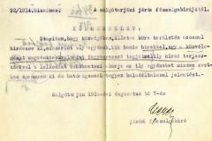 HU-MNL-NML-V.429.b. A Somoskőújfalui körjegyzőség iratai. 92/1914