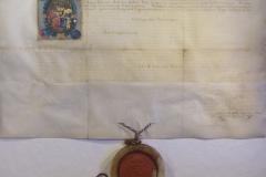 II. Mátyás nemesi címet adományozó oklevele donáció nélkül, 1609-ben, Pozsony várából. Lani, másként Teöreök Illésnek és általa Lani-másként Teöreök Dániel vértestvérének nemességével Turóc Vármegye Nemességének Közgyűlése 1614-ben foglalkozott Szentmártonban.