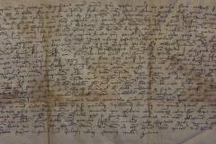 A váci káptalan által kiadott oklevél, 1368
