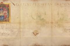 Hont vármegye közgyűlése az I. Lipót által Pozsonyban, 1659-ben kiadott oklevelet, melyben Kis Mátyást és Éva nevű lányát, valamint Veres Györgyöt és Judit nevű lányát nemesi rangra emeli, kihirdeti. Korpona, 1660