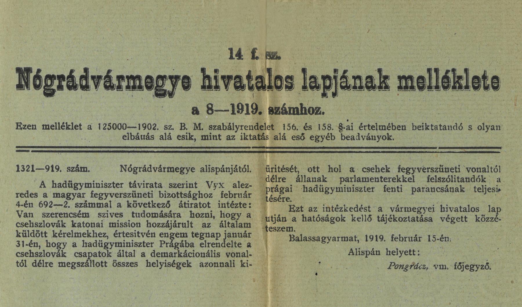 11.-V.310-1.d.-287-1919